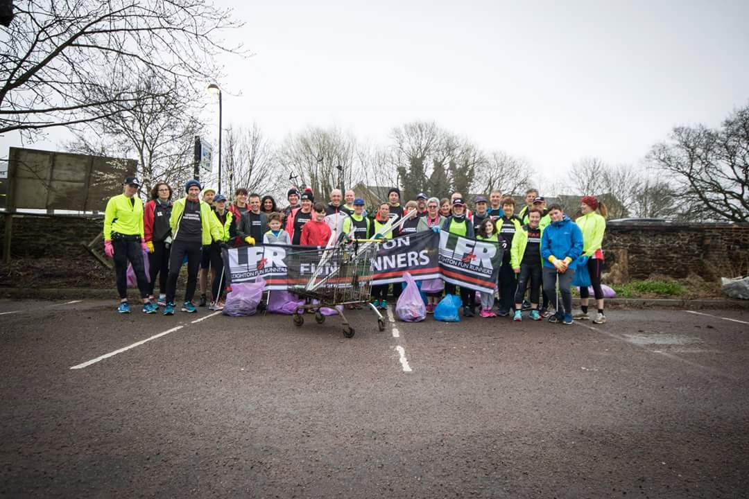 Plogging! by James Smith | Leighton Fun Runners