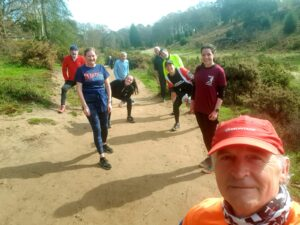 Friday Trail run group